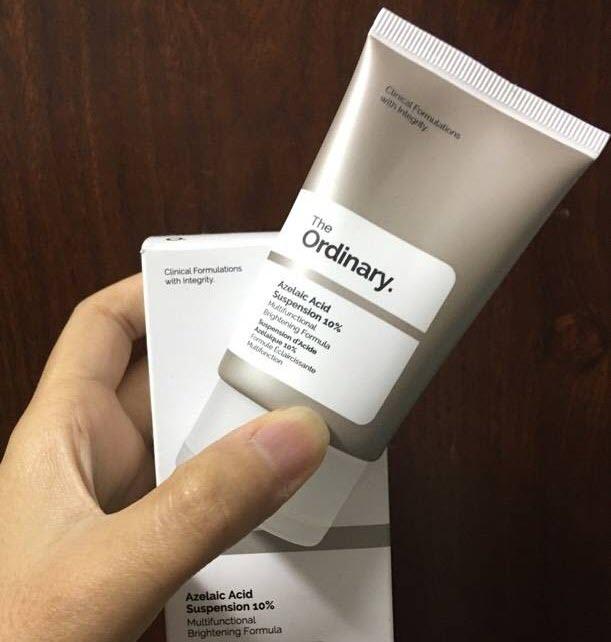 Review Kem trị thâm mụn The Ordinary Azelaic Acid Suspension 10%