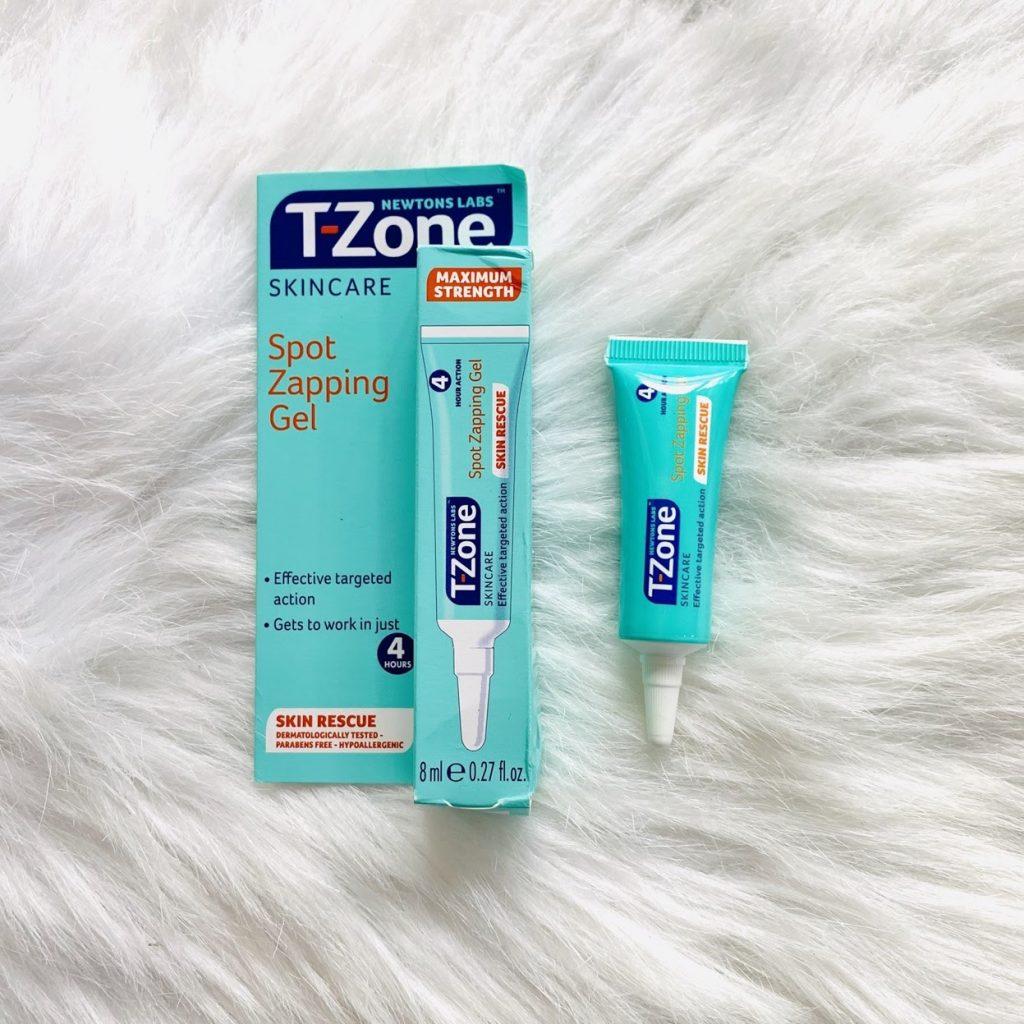 Review Kem trị mụn ẩn T-Zone Spot Zapping Gel