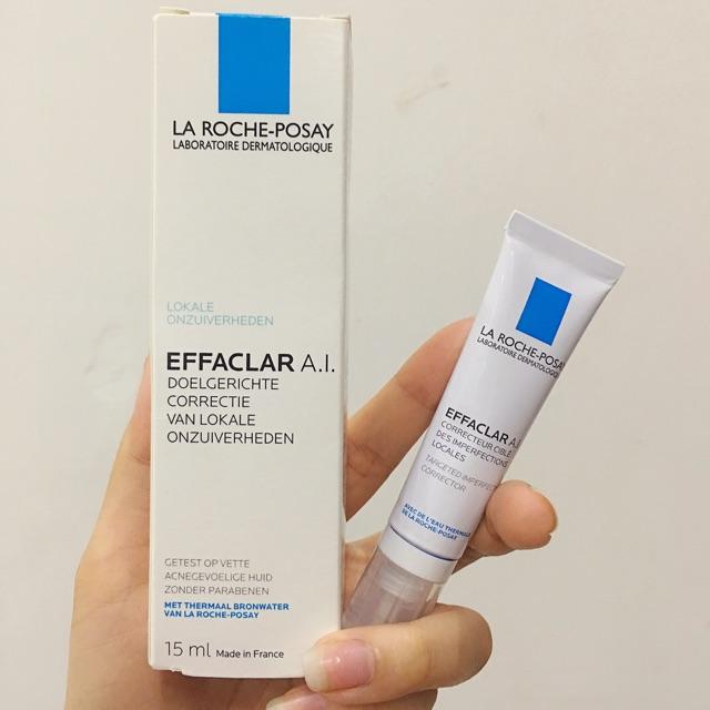 Review Kem trị mụn cho nam La Roche-Posay Effaclar Effaclar AI