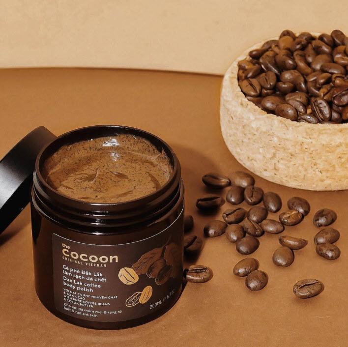 Review Bơ dưỡng ẩm toàn thân cà phê Đắk Lắk Cocoon