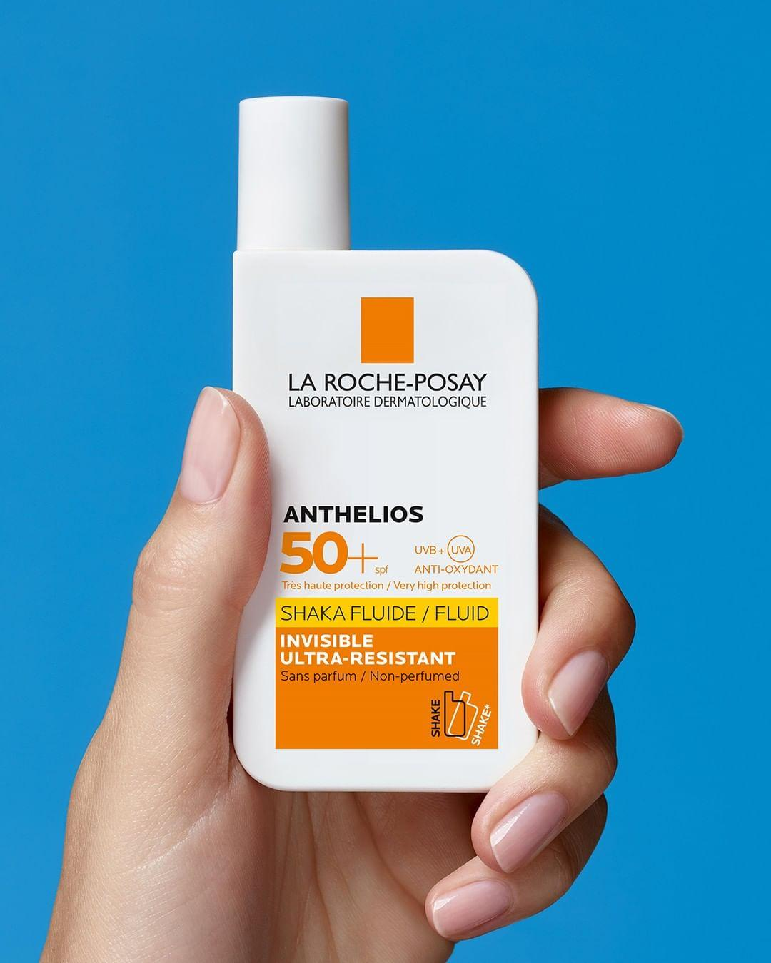Review Kem chống nắng hóa học La Roche-Posay Anthelios Invisible Fluid SPF 50+