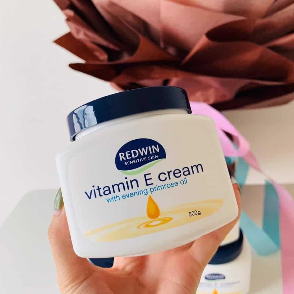Review Kem dưỡng ẩm mùa đông Redwin Vitamin E Cream của Úc