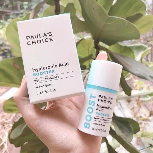 Review Serum dưỡng da cho nam Hyaluronic Acid Paula's Choice RESIST Hyaluronic Acid Booster