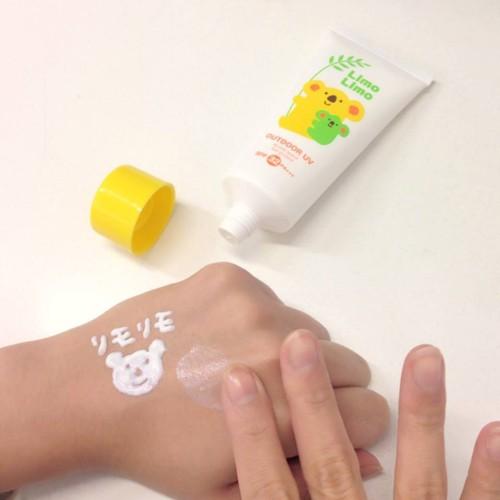 Review Kem chống nắng cho bé Meishoku Limo Limo