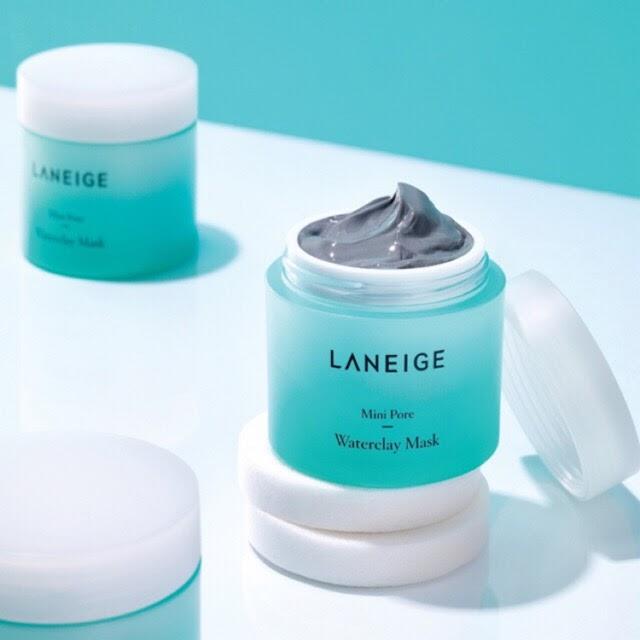 Review Mặt nạ đất sét trị mụn Laneige Mini Pore Waterclay Mask Miniature