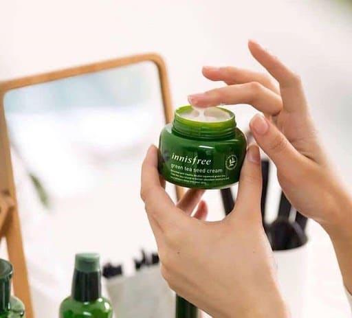 Review Kem dưỡng ẩm innisfree Green Tea Seed Cream
