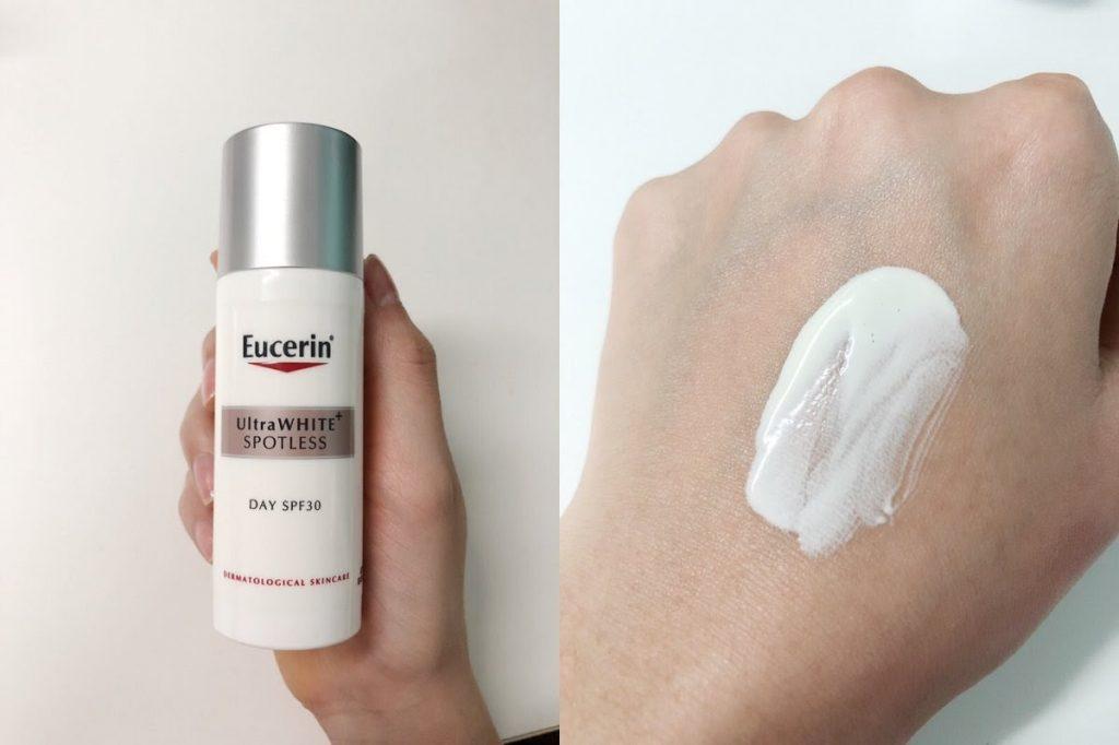 Review Kem dưỡng trắng da của Đức Eucerin Ultra White Spotless Day SPF30 ban ngày