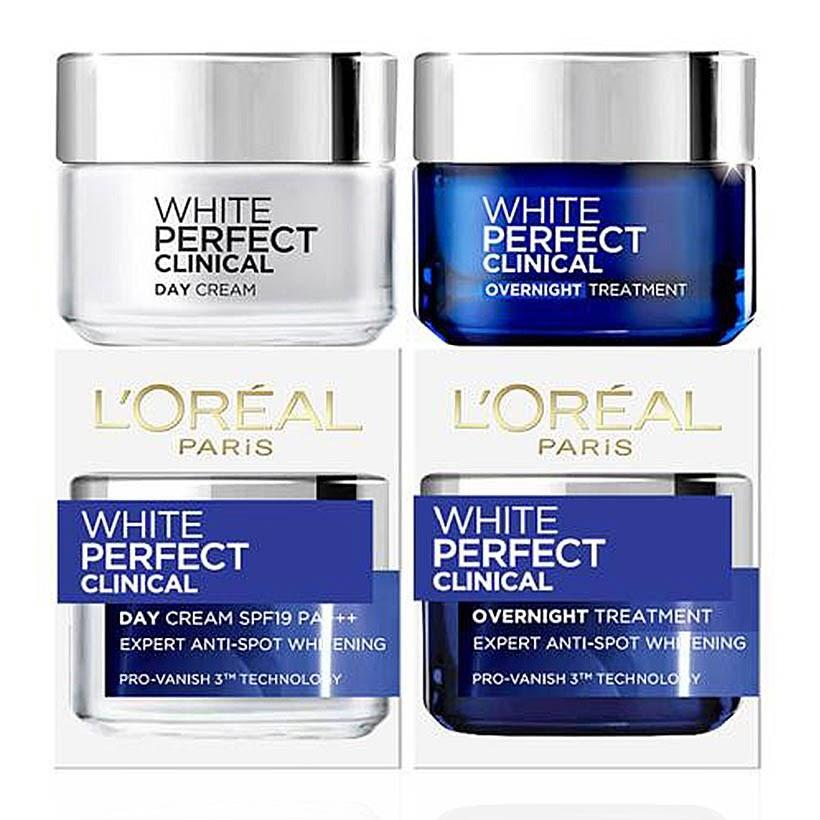 Review Kem dưỡng trắng da mặt ngày & đêm L'Oreal Paris White Perfect