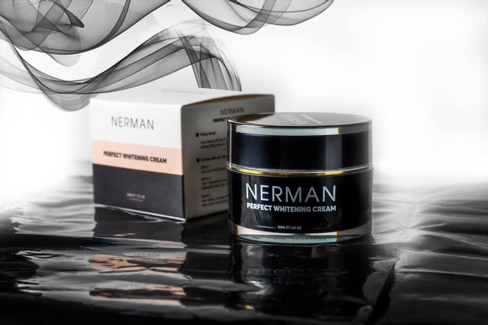 Review Kem trắng da cho nam Nerman Perfect Whitening Cream