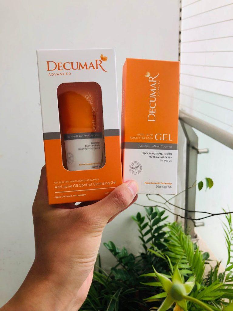 Review Sữa rửa mặt Việt Nam Gel Decumar Advanced