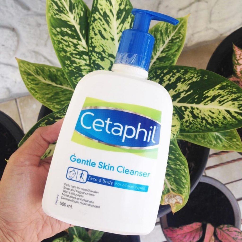 Review Sữa rửa mặt cho da nhạy cảm Cetaphil Gentle Skin Cleanser