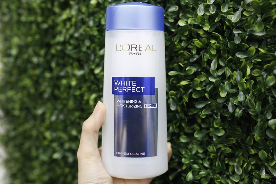 Review Nước hoa hồng trắng da L'ORÉAL White Perfect