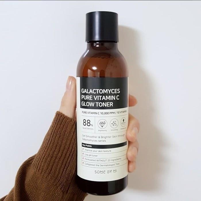 Review Nước hoa hồng trắng da Some By Mi Galactomyces Pure Vitamin C Glow Toner