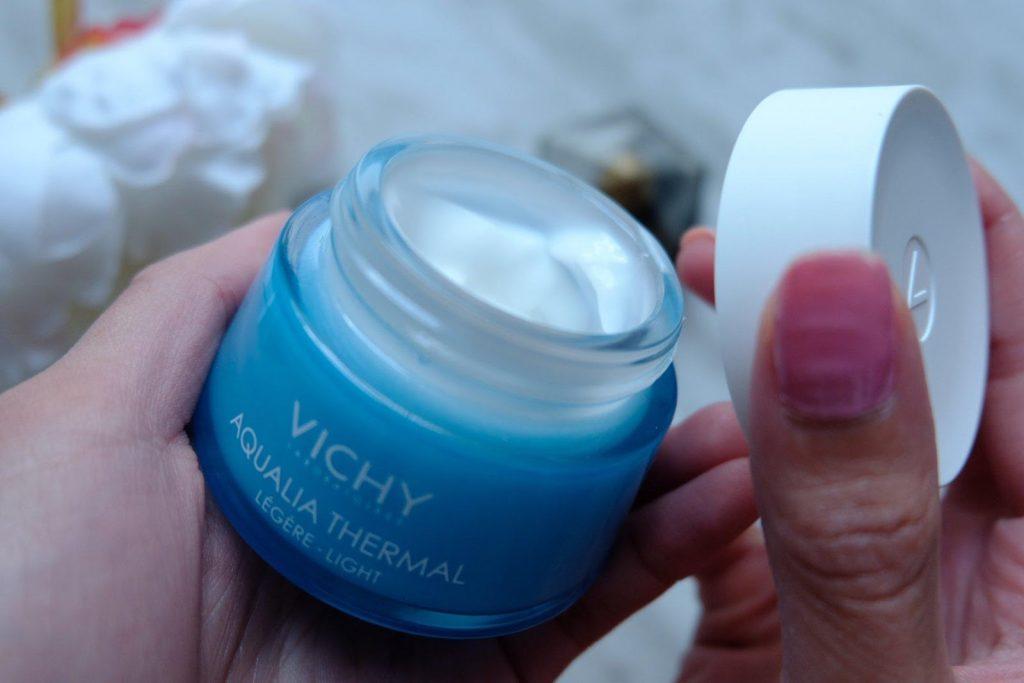 Review Kem dưỡng ẩm Vichy Aqualia Thermal Cream Gel