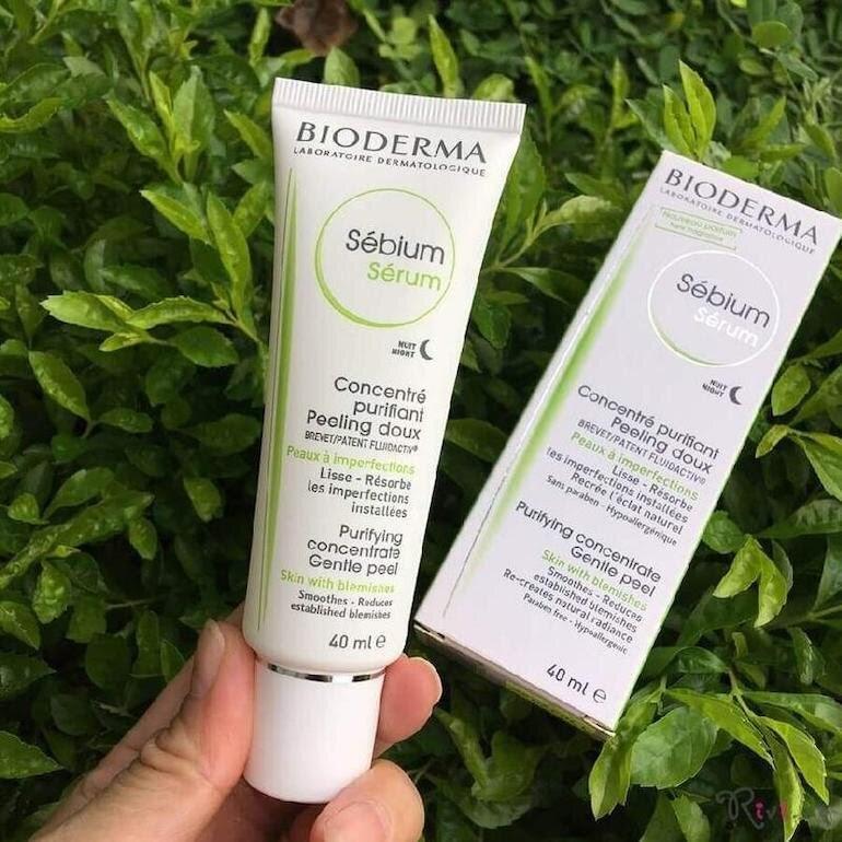 Review Kem dưỡng ẩm cho da mụn Bioderma Sebium Hydra
