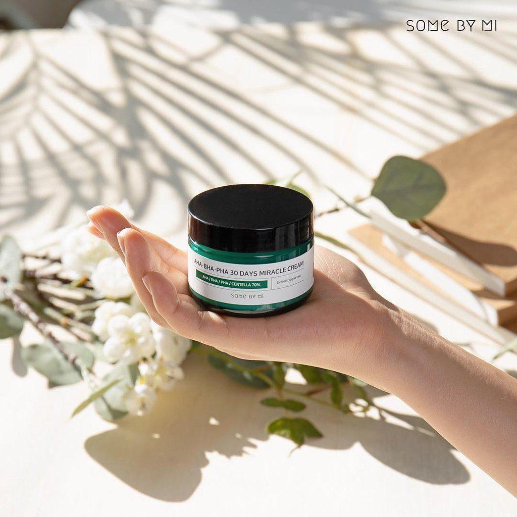 Review Kem dưỡng ẩm cho da mụn Some By Mi AHA-BHA-PHA 30 Days Miracle Cream