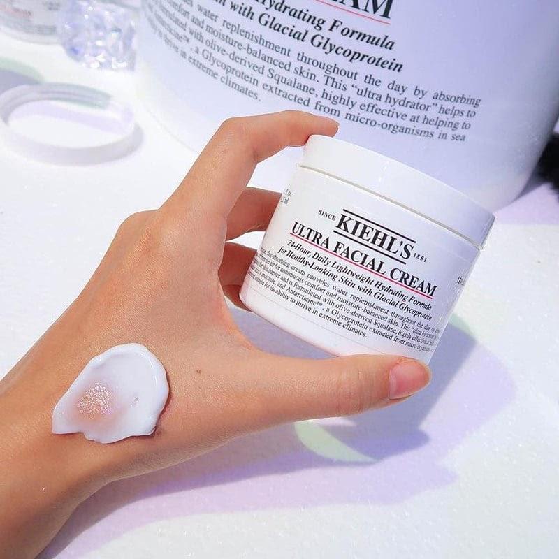 Review Kem dưỡng ẩm cho da nhạy cảm Kiehl's Ultra Facial Cream