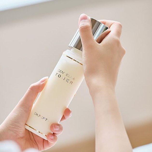Review Nước hoa hồng Dr.Pepti+ Centella Toner Hàn Quốc