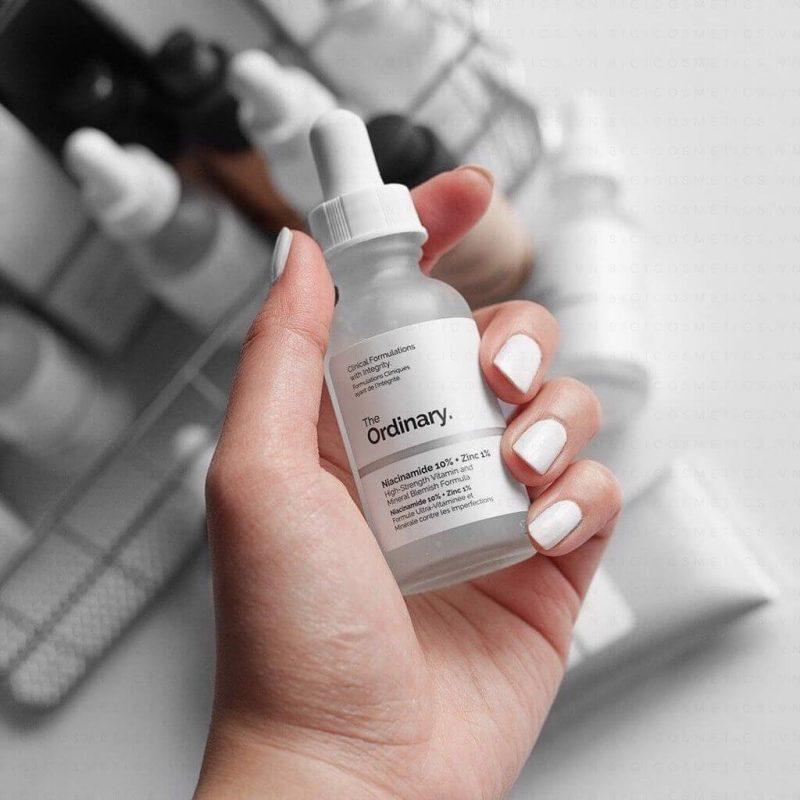 Review Serum cho da dầu mụn The Ordinary Niacinamide 10% + Zinc 1%