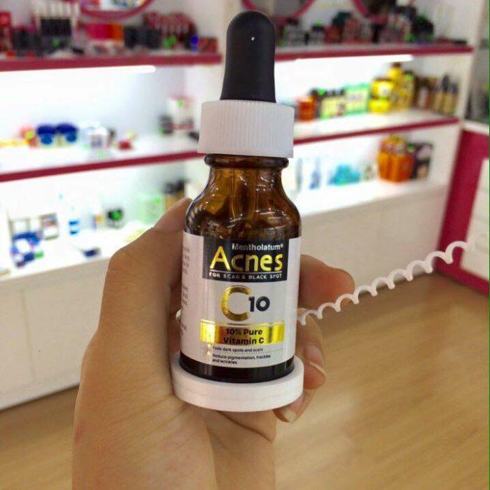 Review Serum trị sẹo rỗ Acnes C10