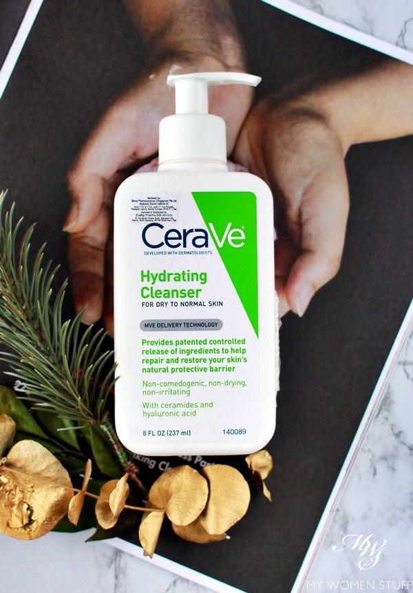 Review Sữa rửa mặt không bọt CeraVe Hydrating Facial Cleanser