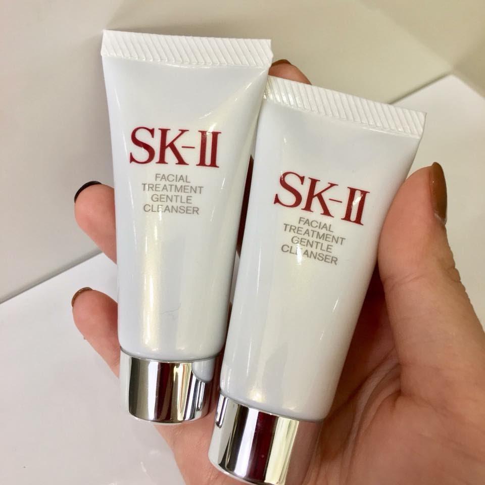 Review Sữa rửa mặt không bọt SK II Facial Treatment Gentle Cleanser