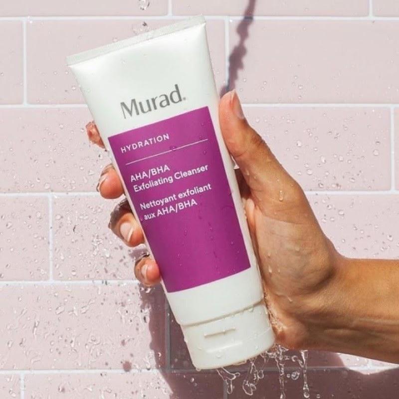Review Sữa rửa mặt tẩy tế bào chết Murad AHA BHA Exfoliating Cleanser