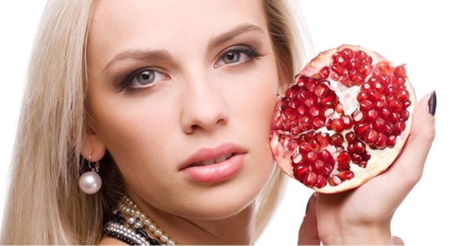 Cách trị thâm môi bằng lựu
