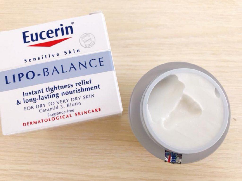Kem dưỡng ẩm Eucerin Lipo Balance cho da khô