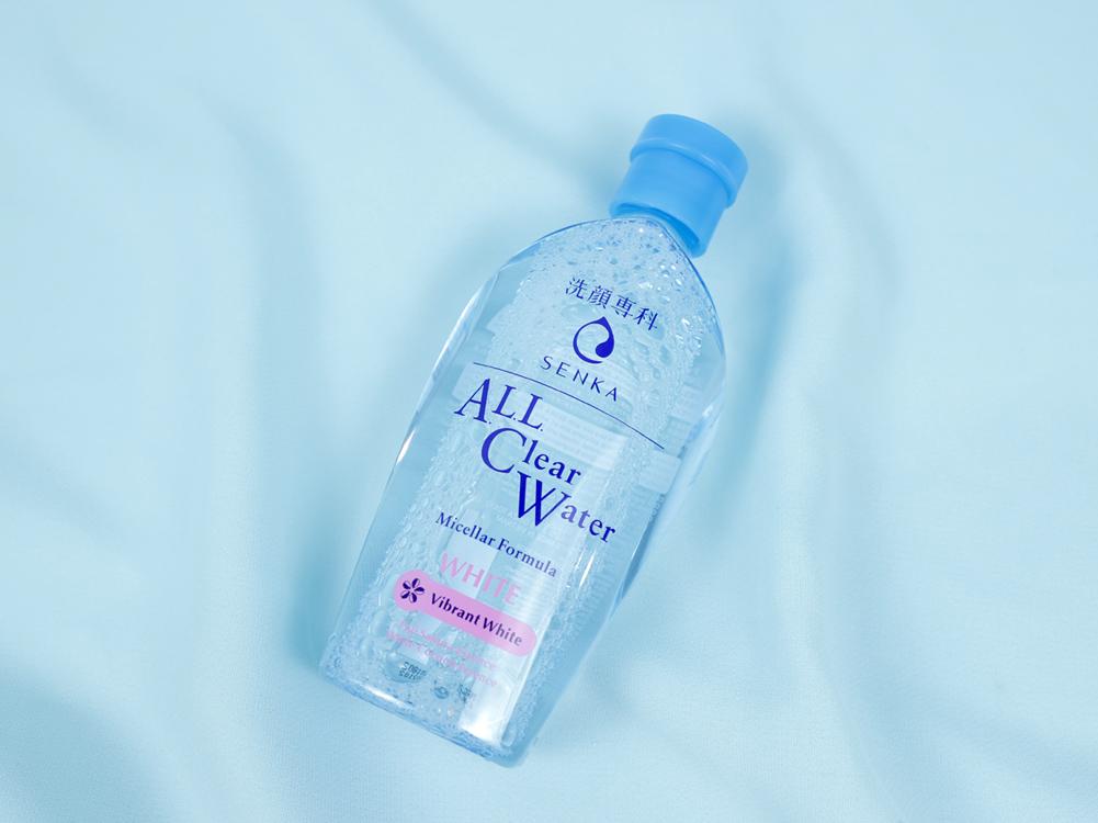 Nước tẩy trang Senka All Clear Water Micellar Formula White cho da khô