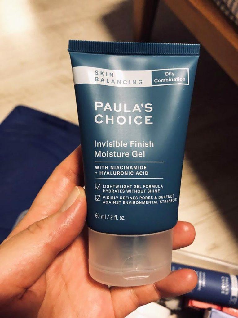 Review Kem dưỡng ẩm cho tuổi dậy thì Paula's Choice Skin Balancing Invisible Finish Moisture Gel