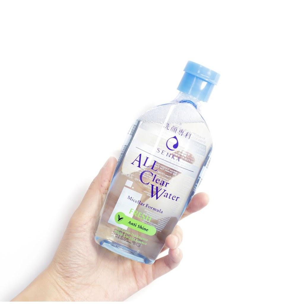Review Nước tẩy trang Senka A.L.L.Clear Water Fresh