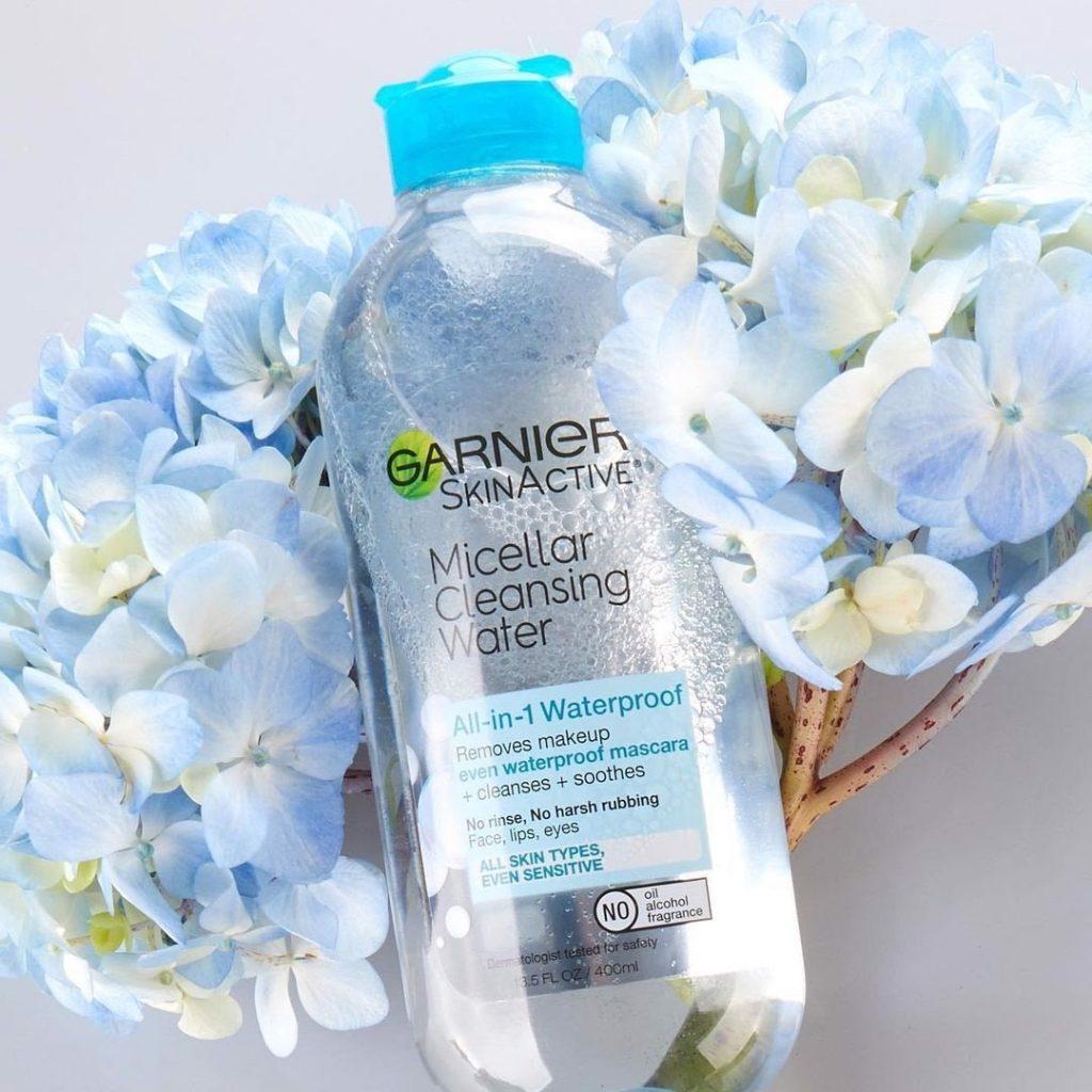 Review Nước tẩy trang cho da hỗn hợp thiên dầu Garnier Micellar Cleansing Water (xanh dương)