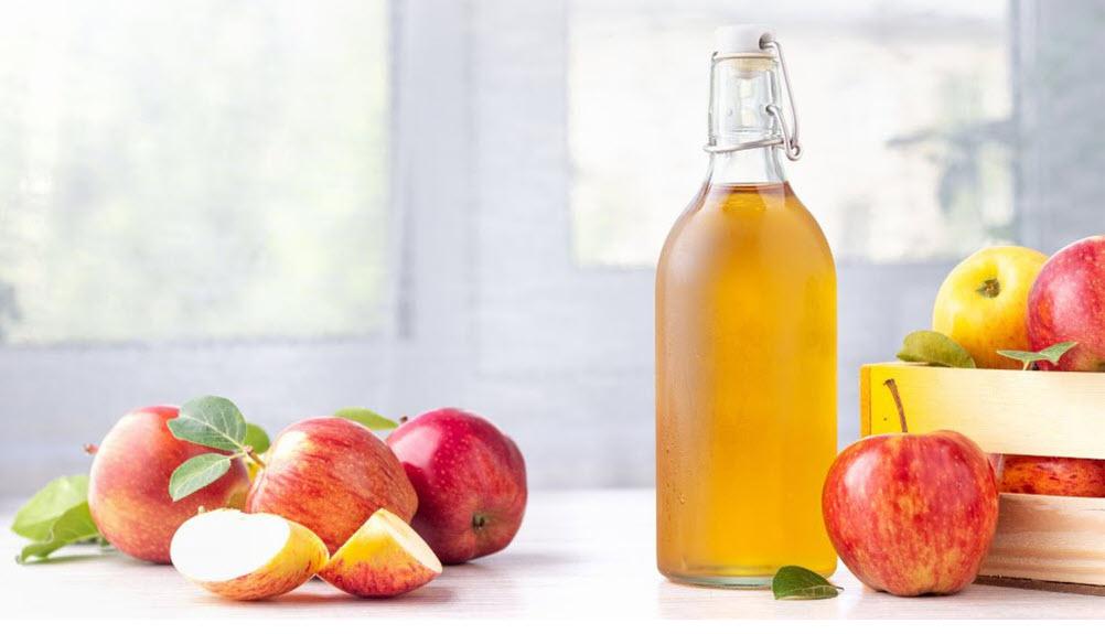 cách se khít lỗ chân lông bằng giấm táo