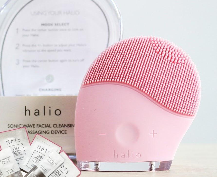 Máy rửa mặt Halio facial cleansing & massaging device phù hợp với ai