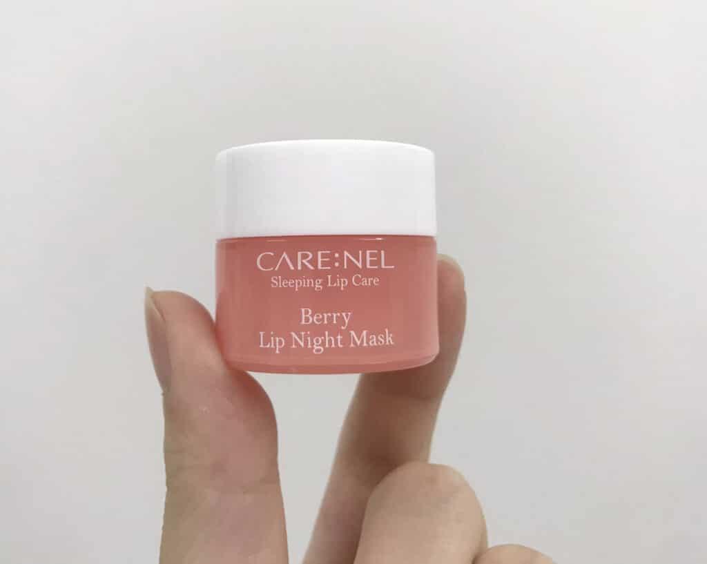 Review Mặt nạ môi Care Nel Berry Lip Night Mask