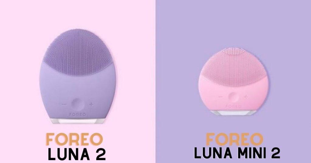 Máy rửa mặt Foreo Luna 2 và Foreo Luna Mini 2